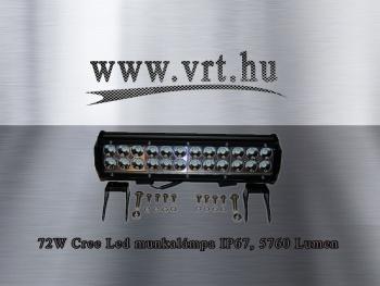 72W CREE LED Lámpa