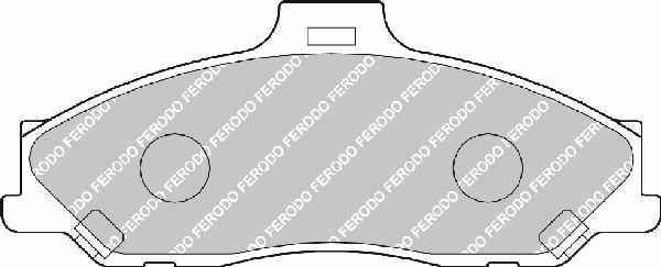 Ford Ranger 2.5 TD Fékbetét (152 mm)