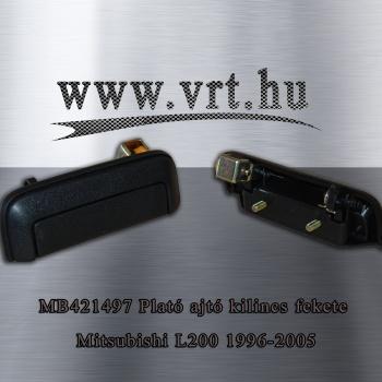 Mitsubishi L200 K74T Csomagtér (plató) ajtó kilincs fekete