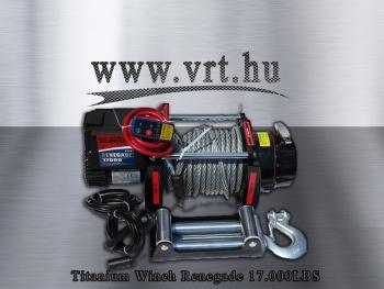 Titanium Renegade 17000 LBS csörlő
