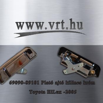 Toyota Hilux '99-től '05-ig Csomagtér (plató) ajtó kilincs króm