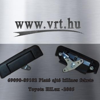 Toyota Hilux '99-től '05-ig Csomagtér (plató) ajtó kilincs feket