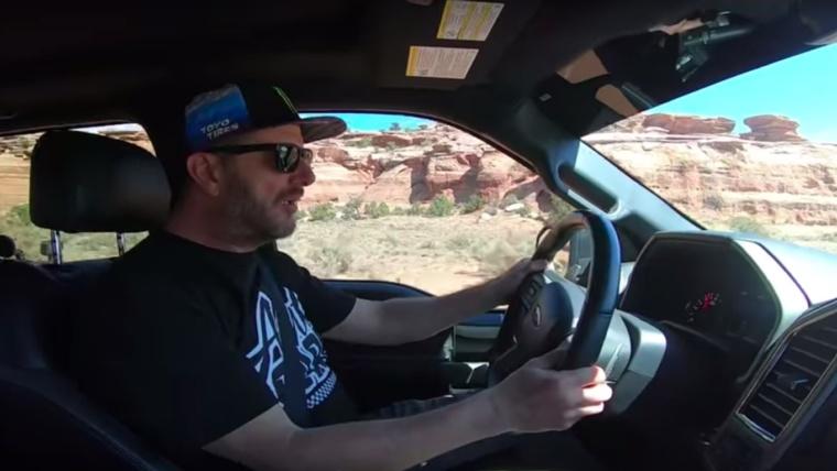 Így csapat Ken Block egy Ford Raptorral – videó